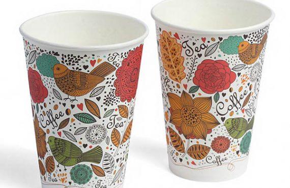 Стакани для чаю від виробника паперових стаканчиків