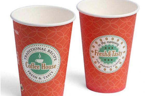 Нанесення лого на одноразовий паперовий посуд у Харкові