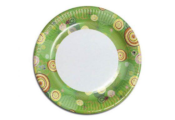 Тарілка кругла