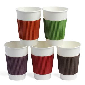 Термочехол для бумажных стаканов цветной