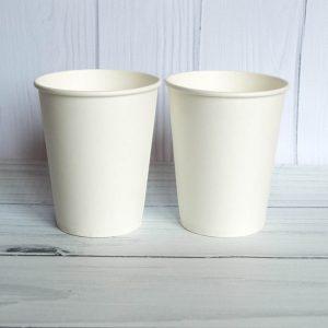 Бумажный стаканчик 250 белый