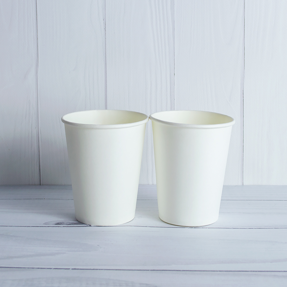 Бумажный стаканчик 250 мл белый. 2000 шт/ящ
