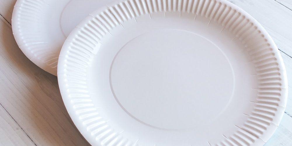 Тарілка 30 см біла