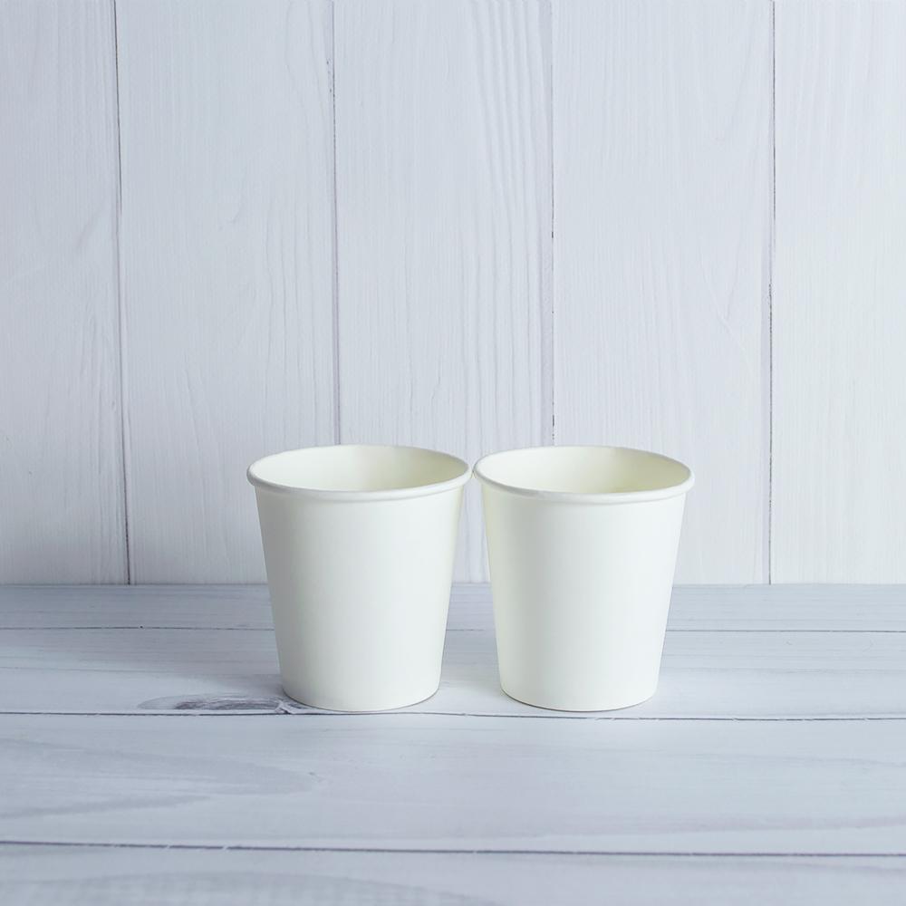 Бумажный стаканчик 110 белый
