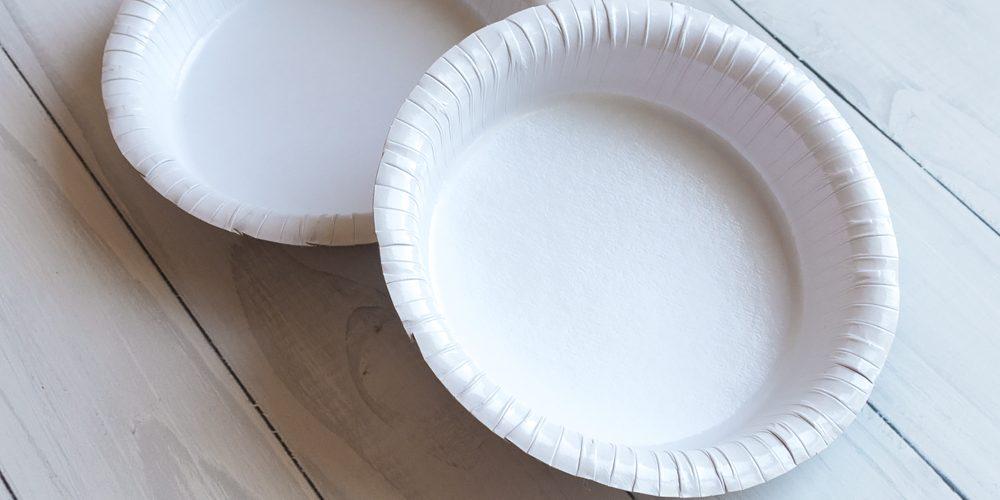 Бумажная миска 400 мл Белая Ламинированная