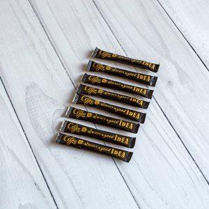 Сахар в стиках 5г  (200 шт/уп - 1 кг) В ящике 10 упаковок